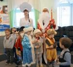 Новогоднее представление «Снеговик и тайна волшебной книги»